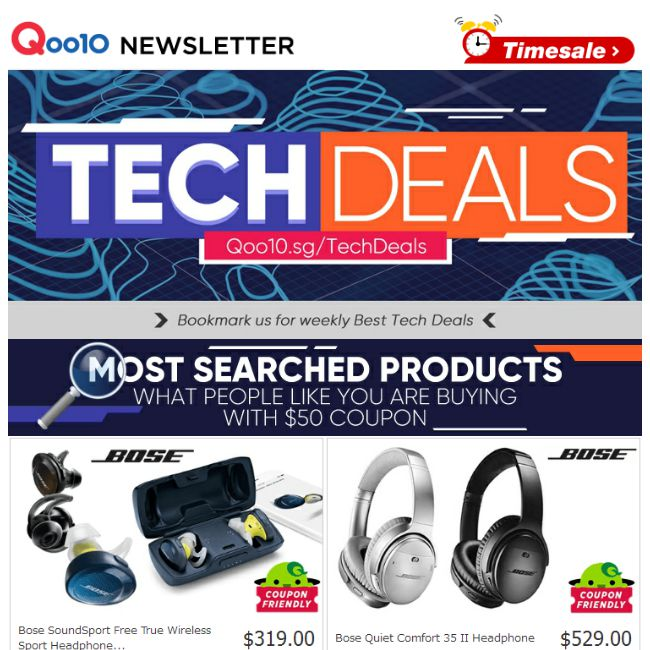 Qoo10  Weekend  50 Coupon Deals ! Shop For Oppo A73   Bose SoundSport Free  True Wireless Headphone Limited Qty ! - 👑BQ.sg BargainQueen 47fe133f05
