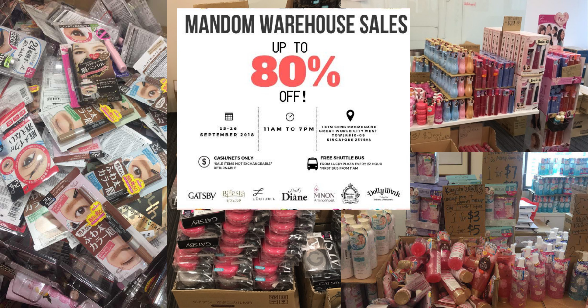84dda206d6b03 Warehouse Sale Singapore Promos