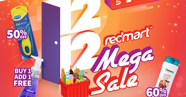 RedMart  12.12 Mega Sale with Up to 75% OFF + Additional  25 OFF with  Coupon Code! 12 - 14 Dec 2018 - 👑BQ.sg BargainQueen dbf6ce27105