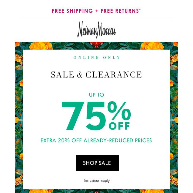 3bc3833c1dc Neiman Marcus] This is it! 75% off sale & clearance items - 👑BQ.sg ...