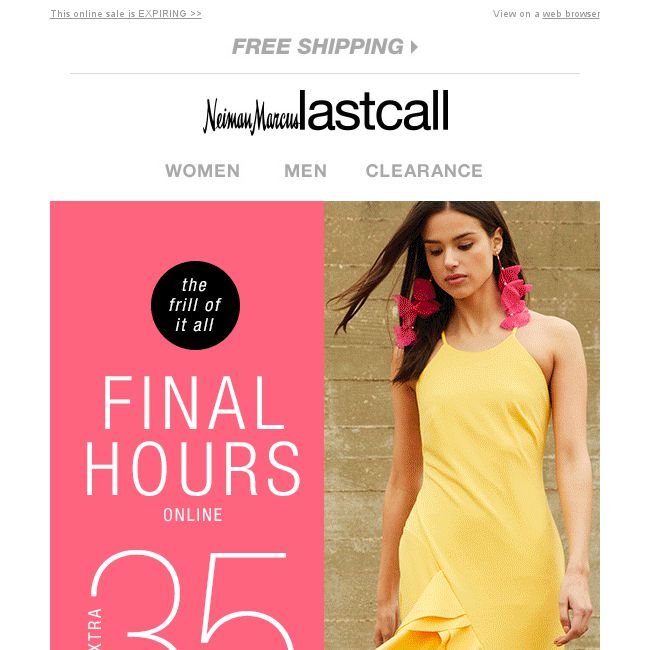 2503d7574 Last Call] FINAL HOURS: extra 35% off SPRING MUSTS - 👑BQ.sg ...